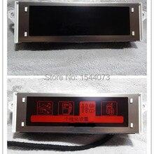 Оригинальная часть красный экран Pupport USB Bluetooth 4 меню дисплей красный монитор 12 pin для peugeot 307 407 408 citroen C4 C5