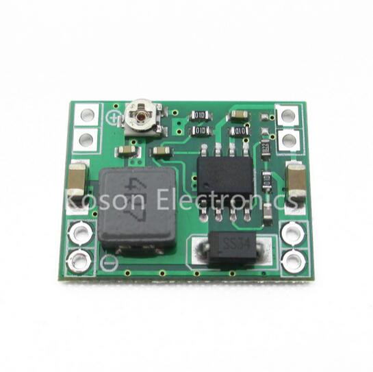 Ultra-small size DC-DC step-down power supply module 3A adjustable step-down module super LM2596