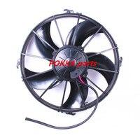 O ônibus eletrônico ventilador de ar condicionado do carro ventilador de refrigeração 24 v soprando alta potência ventilador eletrônico|electronic fan|car air conditioning|air conditioning -