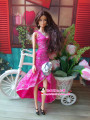 Christmas Gifts For Children Girls Gift Doll Accessories30items=Dress+Shoes+Hangers party Dress Clothes Gown For Barbie Doll