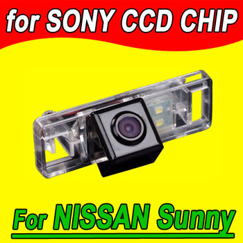 CCD car Ruckfahrkamera for auto Nissan Sunny QASHQAI X-TRAIL dualis Citroen C4 rear view back reverse HD image