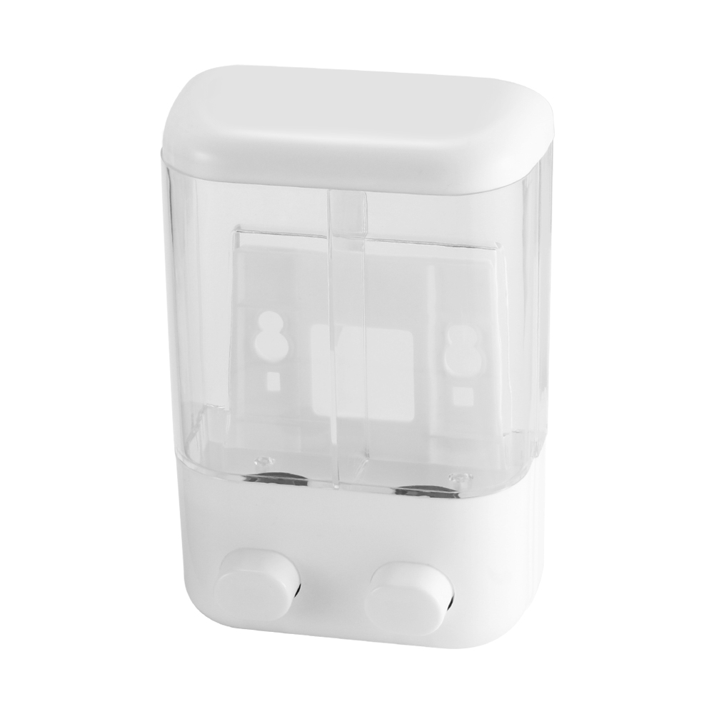 1000ML Bathroom Wall Mounted Soap Dispenser Transparent Shower Shampoo Liquid Soap Lotion Dispenser Bathroom Supplies