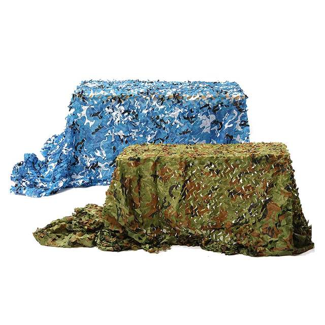 7m*2m Hunting Military Camouflage Net Woodland Army training Camo netting Car Covers Tent Shade Camping Sun Shelter