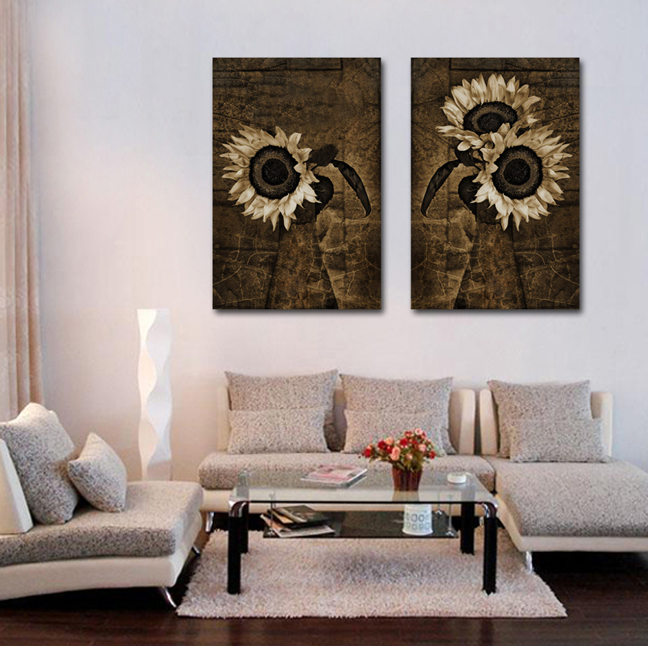 Hd Spray Painting Large Canvas Printed Wall Art Black And White