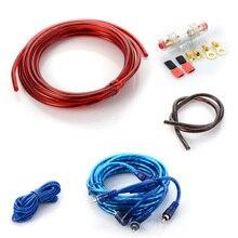 8GA Audio Speaker Wiring kit Cable Amplifier Subwoofer Speaker Installation Wire