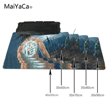 MaiYaCa One Piece 900x400mm pad to Mouse Notbook Computer Mousepad Popular Gaming Mouse Pad Gamer to Laptop Mouse Mat