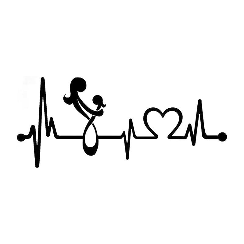 20 4cm 8 9cm mom loves daughter heartbeat lifeline car gator clip art mouth gator clipart