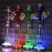 1 Piece Lot Wedding Party Centerpiece Decorating Ideas Hookah LED Base Light RGB Color Changing Decorative