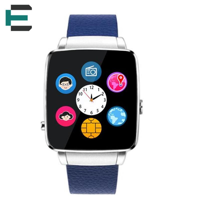 X6 MTK6261D Smart wrist Watch support GSM SIM Card GPRS font b Smartwatch b font Location
