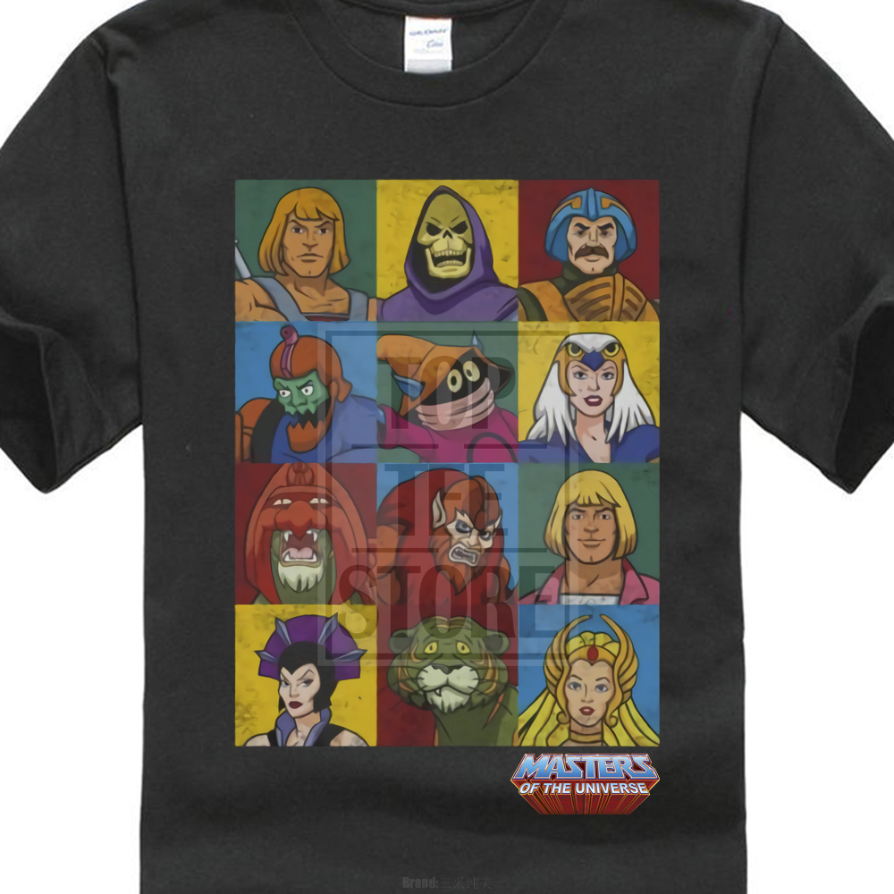 Maestros del universo He Man personajes Licensed adultos camiseta