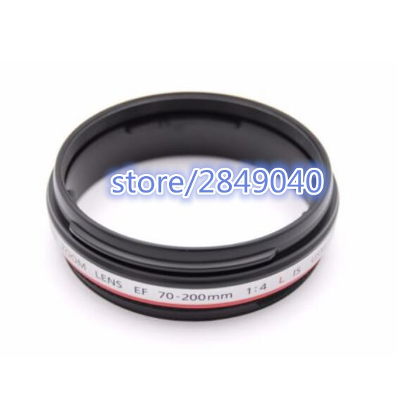 new EF 70-200 MM for Canon EF 70-200mm f/4L IS USM Front 2 Filter Ring Assembly Replacement Part new and original for cano lens ef 28 300 mm f3 5 5 6 l is usm lock ring ya2 3642 000