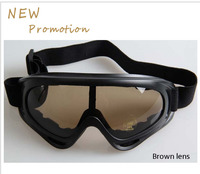HotMen Women Skiing Eyewear PC Space Material Motorcycle Goggles Protective Glasses Shock Resistance Snow Goggles