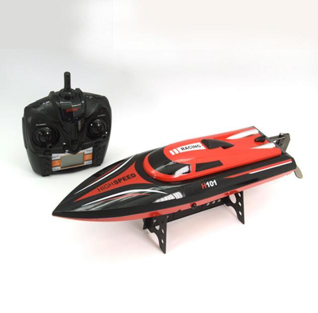 Skytech H101 2.4G 4 canaux télécommande haute vitesse bateau de course, chape automatique, bateau jouet électrique, modèle de simulation volant