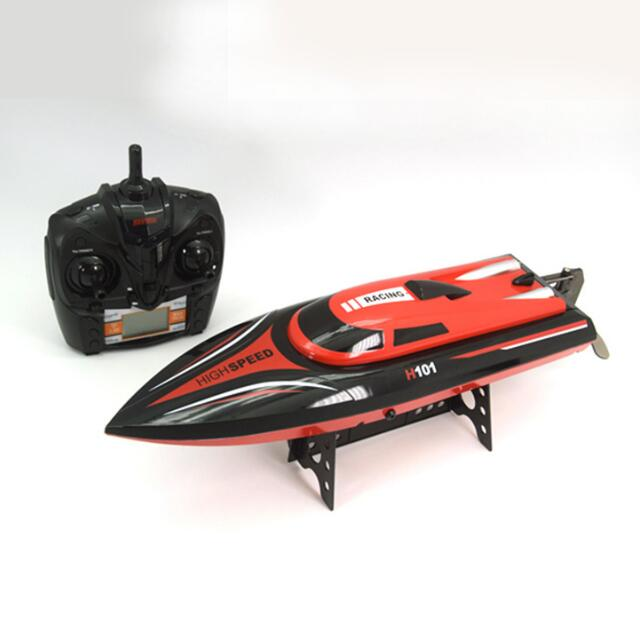 Skytech H101 2.4G 4-channel remote control high speed racing boat ,capsize automatic,electric toy boat,simulation model flywheel купить в Москве 2019