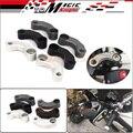 Motocicleta Espejos De Aluminio de Reubicación Adaptador de Extensión Kit Para BMW F650GS F700GS F800GS/R HP2-Megamoto K1200R K1300R S1000XR/R