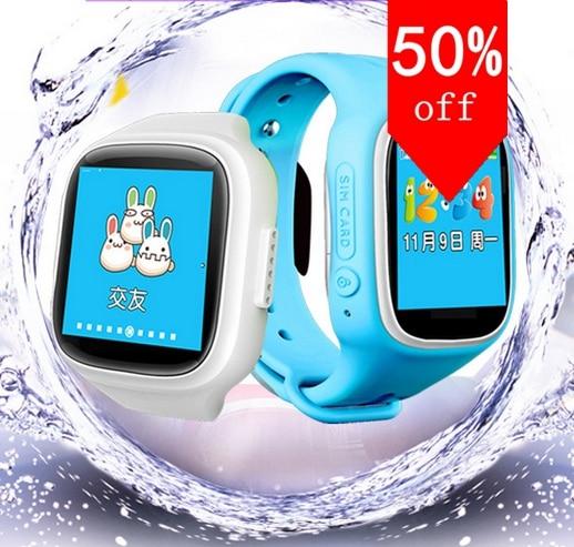New Smart watch Kids Wristwatch GPRS GPS Locator Tracker Anti Lost font b Smartwatch b font