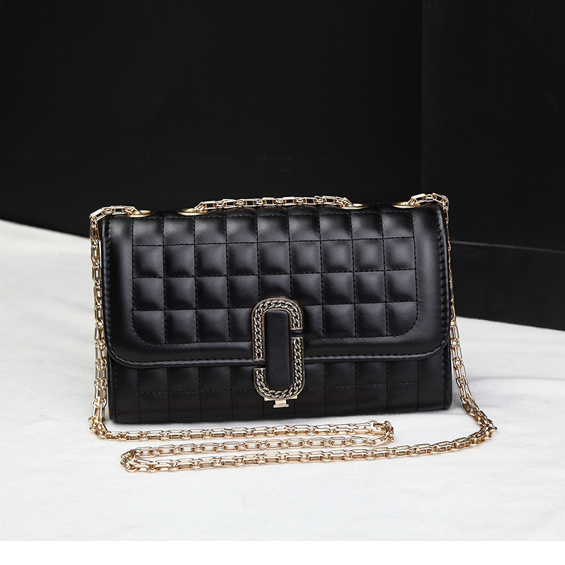 Women's Bags Chain Spanning-Bag Single-Shoulder with Locks Slant And Big New-Type