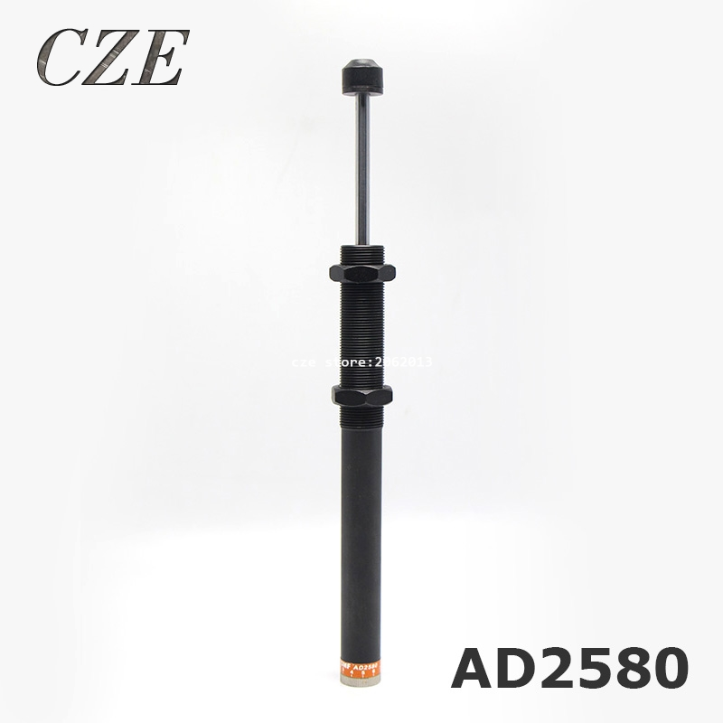 Adjustable Hydraulic Buffer AD2580 Pneumatic Hydraulic Shock Absorber adjustable hydraulic buffer ad2580 pneumatic hydraulic shock absorber automatic compensation type hydraulic buffer