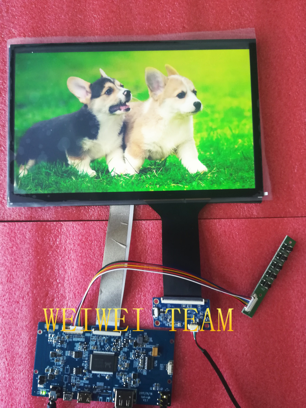 VVX10T025J00 10.1 inch 2k 1440p 2560*1600 TFT Ips Panel Lcd Display capactive touch panel Hdmi to mipi board diy projector kitVVX10T025J00 10.1 inch 2k 1440p 2560*1600 TFT Ips Panel Lcd Display capactive touch panel Hdmi to mipi board diy projector kit