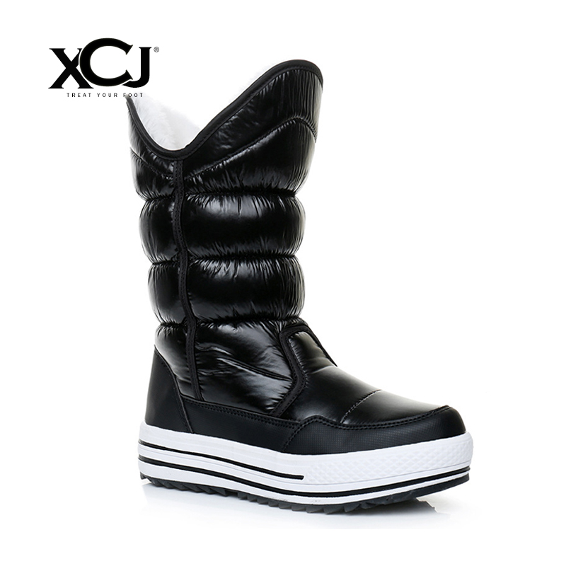 Women Winter Shoes Plus Big Size Brand Knee High Boots
