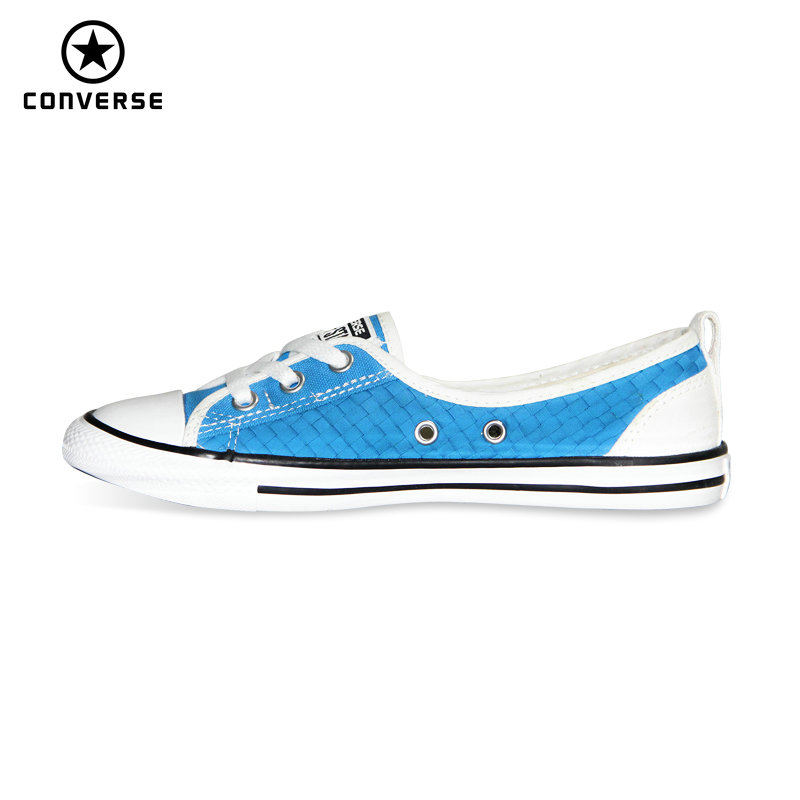 цена на new Converse All Star Cool and refreshing styles women sneakers light Popular summer The thin canvas Skateboarding Shoes 552911C