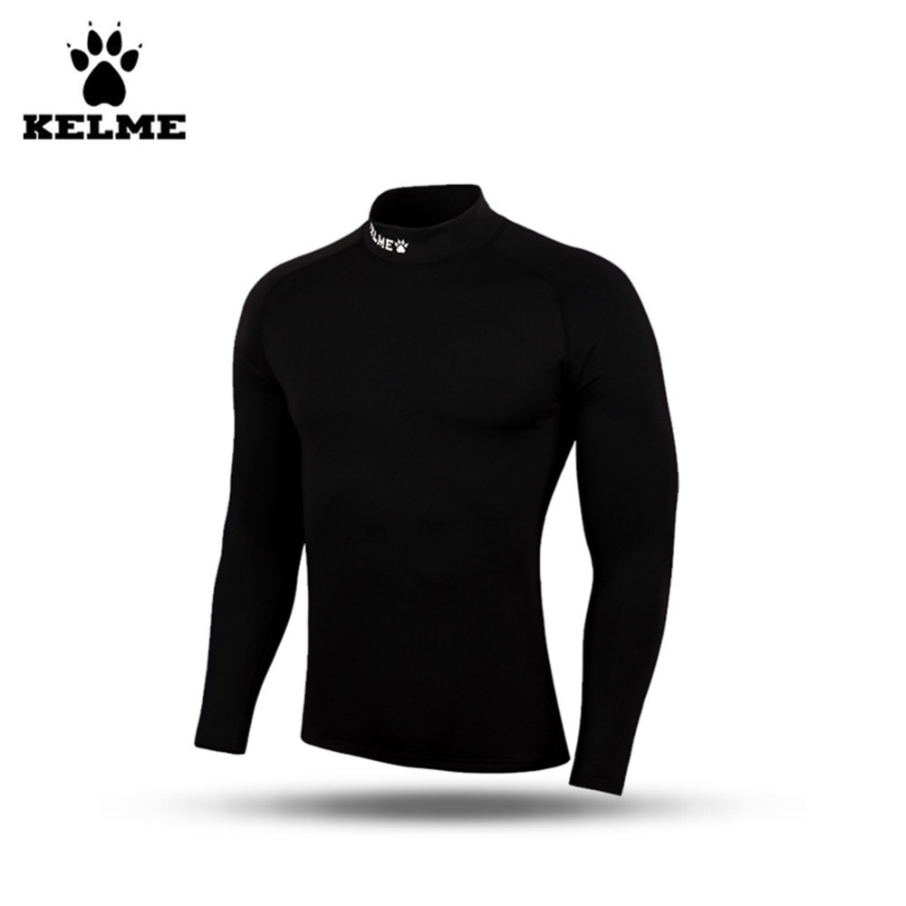 ФОТО Kelme Kids K15Z739 Black Breathable Plus Thick Velvet Long Sleeve Straitjacket
