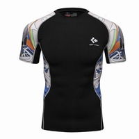 Guangzhou Manufacturer Wholesale Top Selling High Quality Custom Printing Design Your Own MMA Rash Guard BJJ