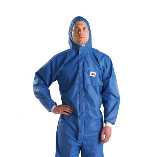 3M 4532 Safety Clothing Chemical Radiation Resistant Particles Anti Static Chemical Suit Paint Clothes Clean Work Dust Coveralls