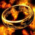 Сертифицированные Драгоценные Кольца мордора Чистый 18 К Твердого Желтого Золота Властелин Колец Кольцо Для Мужчины Женщины Свободное Падение корабль