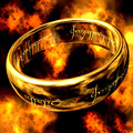 Certified The Precious Ring of Mordor Pure 18K Solid Yellow Gold The Lord Of Rings Ring Band For Men Women Free Drop Ship
