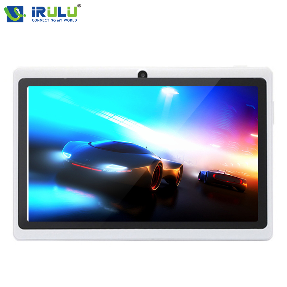 Original irulu expro x1 7 ''pc de la tableta de andriod 4.4 quad core 16g rom ta