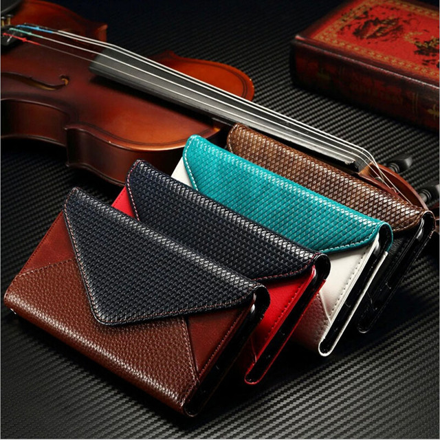 Luxury retro envelope wallet flip leather phone case for samsung luxury retro envelope wallet flip leather phone case for samsung galaxy s7 business card holder photo reheart Image collections