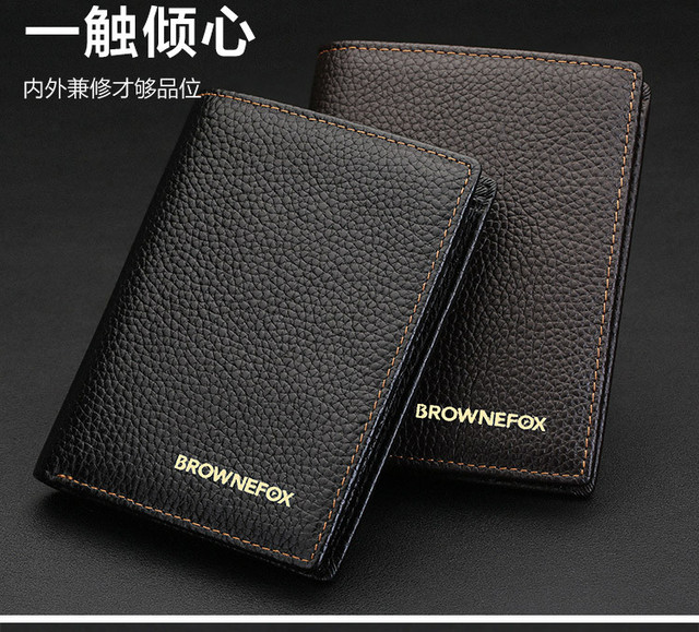 Hot Sale Men Money Pockets Purse ID Credit Card Holder PU Leather Clutch Bifold Wallet Mens Business Style Purse