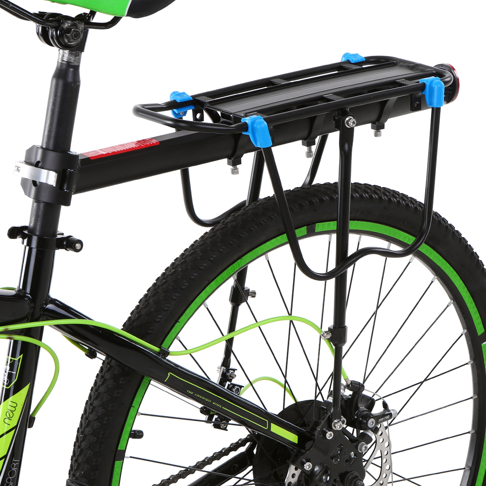 Aluminum Alloy Mountain Bike Holder For Bicycle Adjustable Bike Cargo Rack Rear Rack Bicycle Accessories Bicycle Rack     - title=
