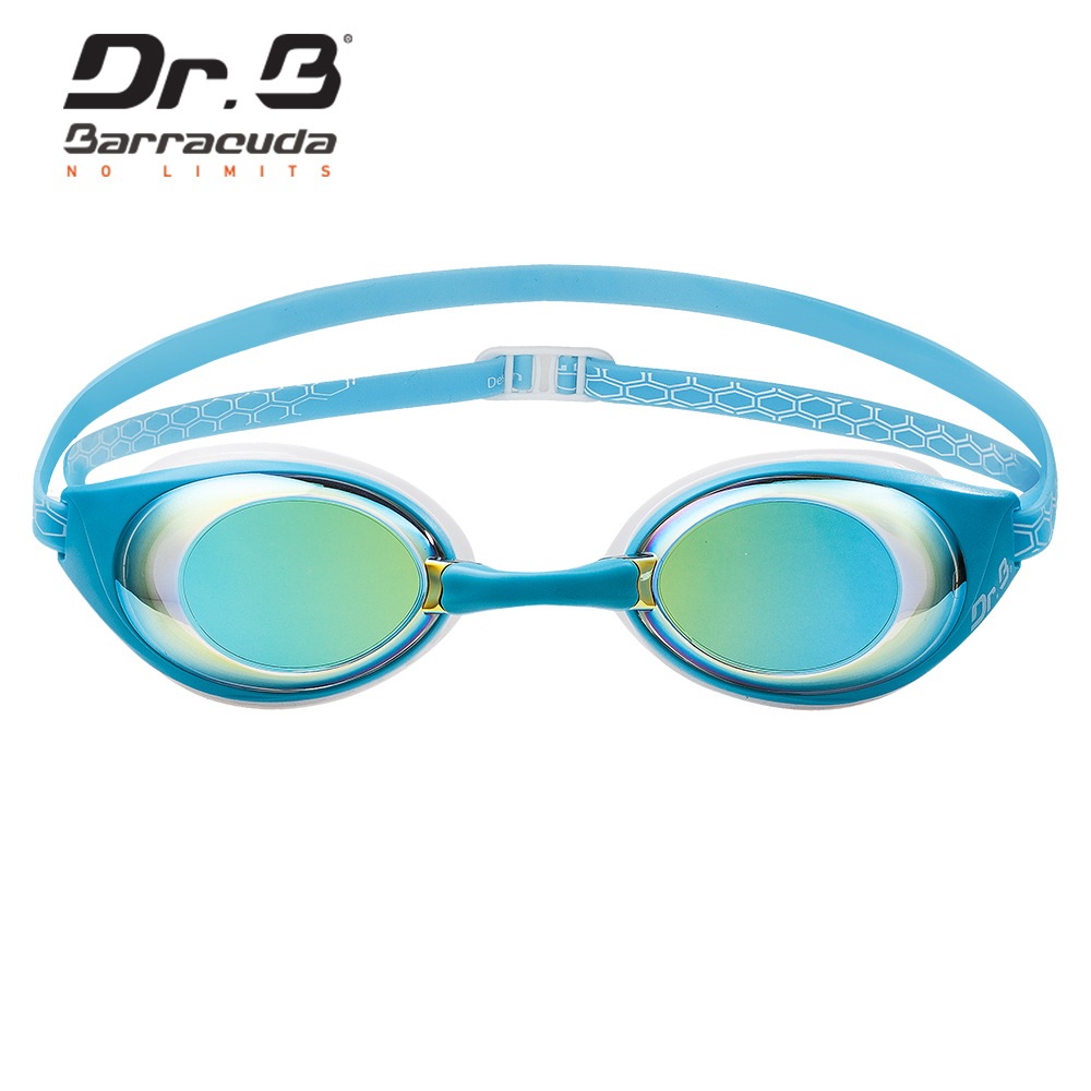 Barracuda Dr B Myopia Swimming Goggles Honeycomb structured Anti Fog UV Protection Waterproof for Women Men