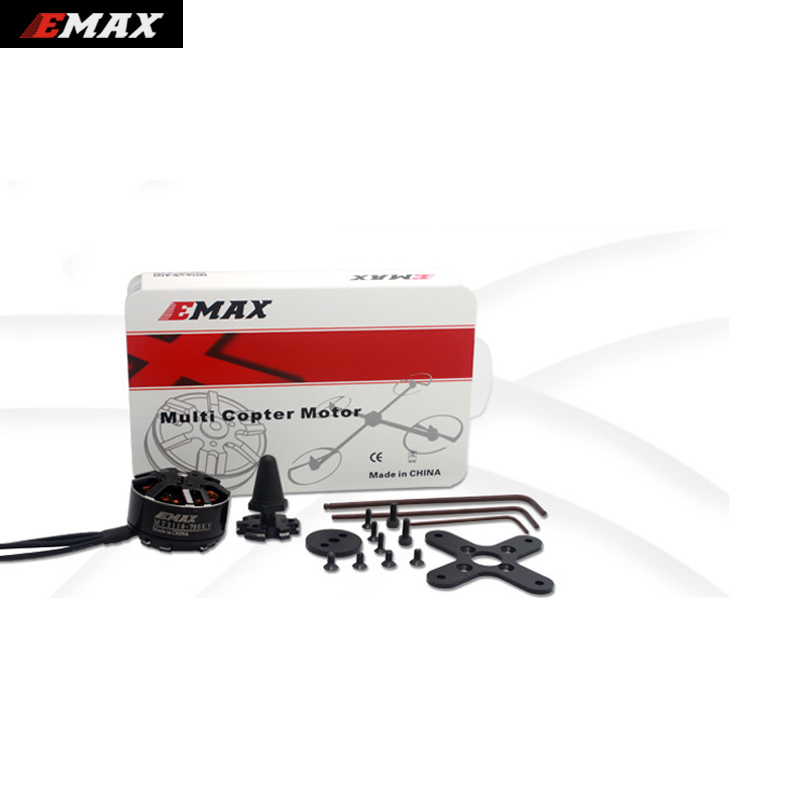 1set Original EMAX Brushless Motor MT3110 700KV KV480 Motor CW CCW for RC FPV Multicopter Quadcopter original emax rs1104 5250kv brushless motor t2345 tri blades propellers cw ccw props for 130 rc brushless racer drone q20400