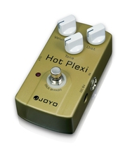 JOYO Hot Plexi True Bypass Electric Guitar Effect High Output Distortion Simulates The Classic JCM800 AMP