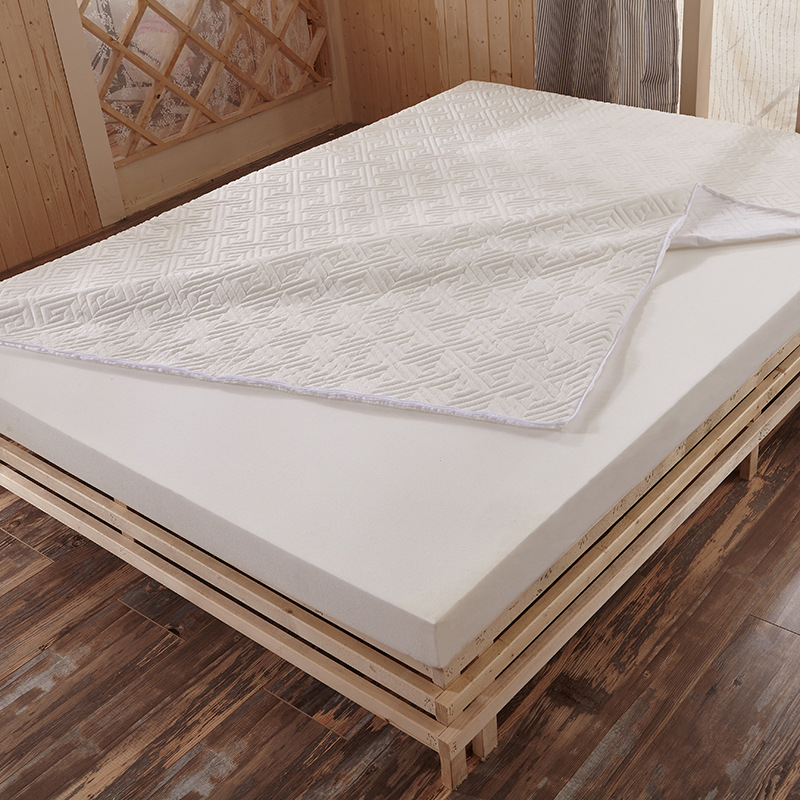 Detachable New Style High Rebound Memory Foam Mattress Classic Design White Blue Quality Thick