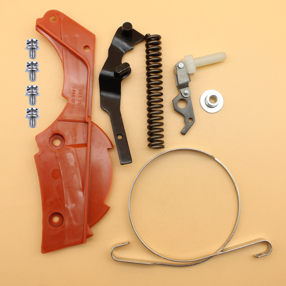 Chain Brake Band Spring Cover Knee Joint Sleeve Repair Kit For HUSQVARNA 362 365 371 372 XP 372XP Chainsaw Parts