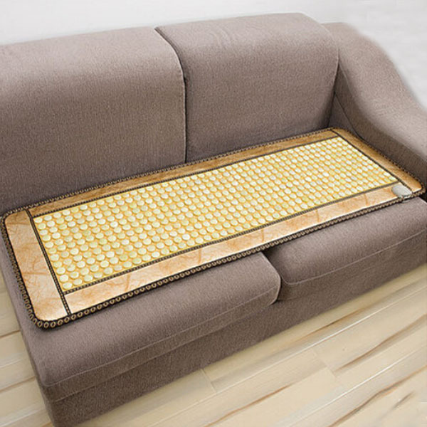 Free Shipping Jade Pad Ochre Jade Pad Heating Mattress Sofa Cushion Far Infrared Thermal 50cm*150cm for Sale 2017 hot product free eye cover china wholesaler germanium thermal heating jade cushion free shipping 50 150cm