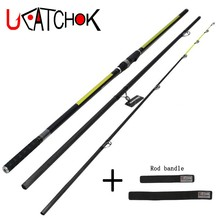 Wholesale 2pcs/pack 4.2M 200g long Casting weight Surf carp rod far shot fishing beach shoot angling