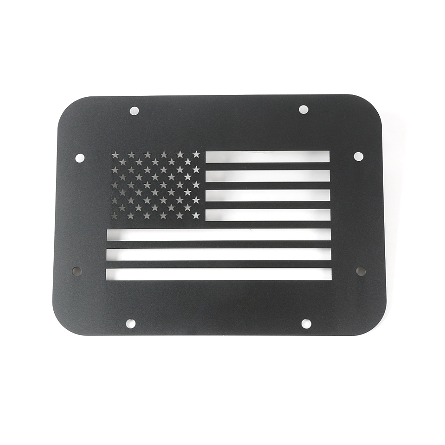Yaquicka Usa Flag Car Rear Door Tailgate Exhaust Opening