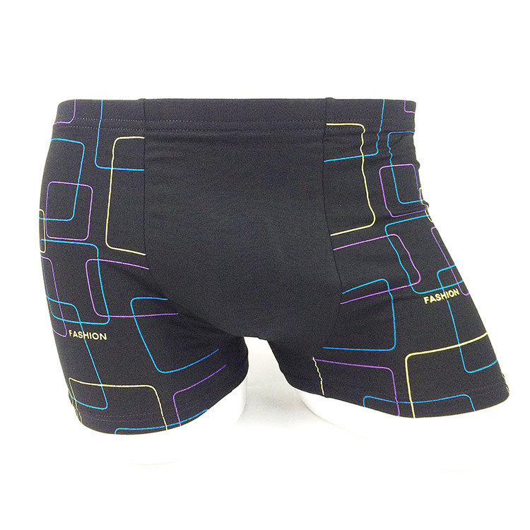 Panties XL-5XL Men's Underwear Bamboo Fiber Quarter Shorts Wharf Flat Pants Elastic Loose Men's Underwear