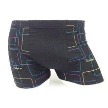 panties XL-5XL Mens Underwear Bamboo Fiber Quarter Shorts Wharf Flat Pants Elastic Loose