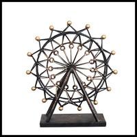 Retro Metal Decoration Furniture Decorative Ferris Wheel Gift Graft For Women Vintage Home Decor ElimElim
