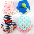 Clearance Sales 3pc/lot 100% Cotton Bandana Bibs Babador Saliva Bavoir Towel Baby Bibs Girls Towel Bandanas Boys Burp Cloths