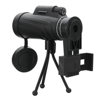 40X60 HD Zoom Lens Camping Travel Waterproof Monocular Telescope Tripod Clip For Samsung For IPhone Xiaomi
