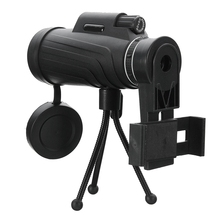 Cheap price 40X60 HD Zoom Lens Camping Travel Waterproof Monocular Telescope + Tripod + Clip for Samsung for iPhone Xiaomi Huawei