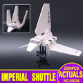LEPIN 05034 Genuino Serie Star El Imperial Shuttle Montado Bloques de Construcción Para la Educación Juguetes de Los Ladrillos Compatible con 10212