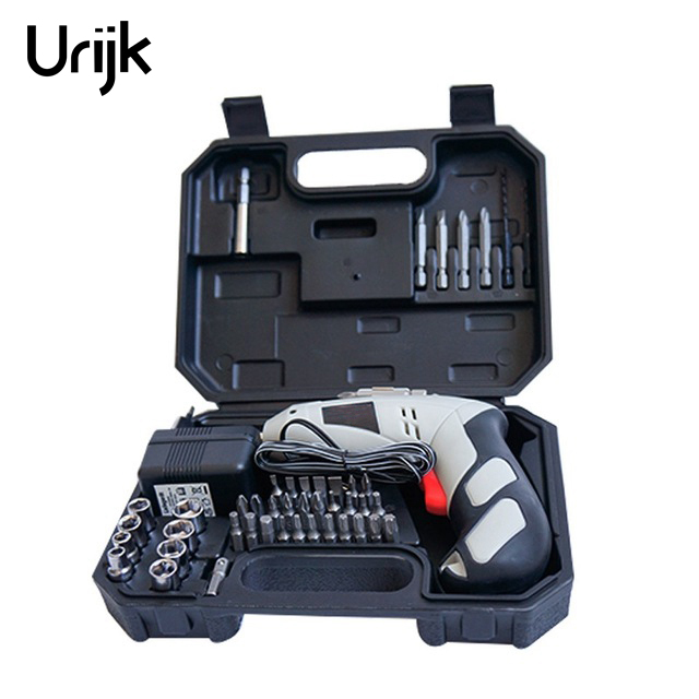 4.8V Lithium Battery Rechargeable Electric Screwdriver Furniture Electrical Maintenance Installation Tools Set